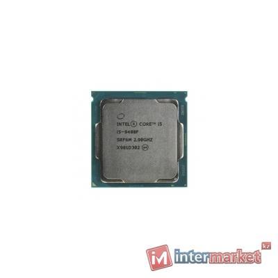 CPU Intel Core i5 9400F 2,9GHz (4,1GHz) 9Mb 6/6 Core Coffe Lake Tray 65W FCLGA1151