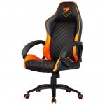 Кресло игровое компьютерное Cougar Fusion, Black-Orange