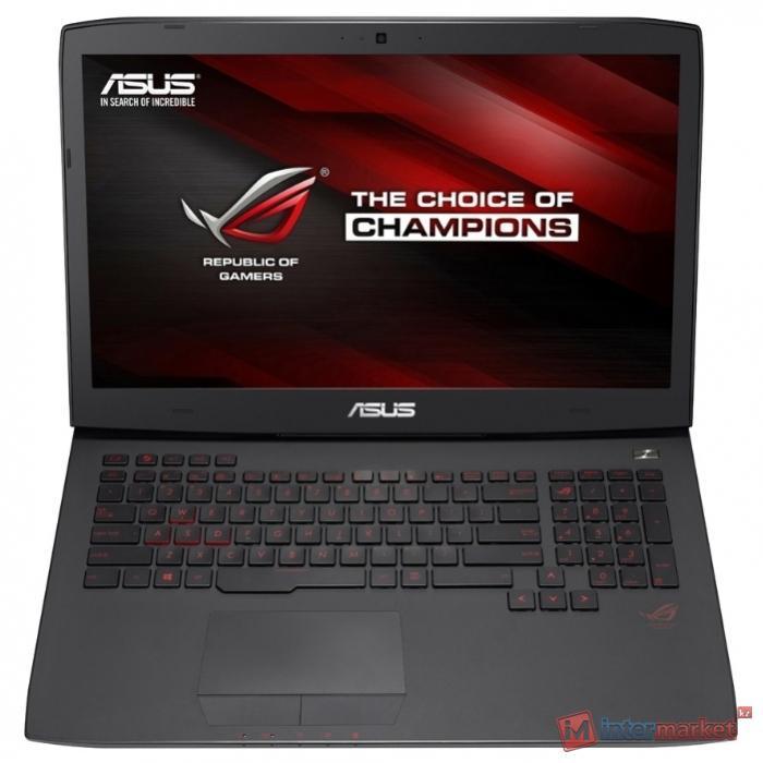Ноутбук ASUS ROG G751JT (Core i7 4720HQ 2600 MHz/17.3
