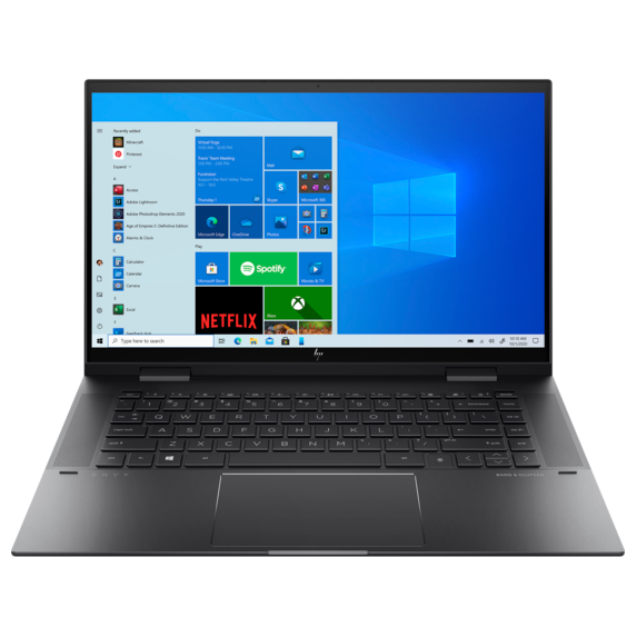 Ноутбук HP 15-eu0020ur HP ENVYx360 Touch 15.6 FHD IPS AMD Ryzen™ 5 5500U/8Gb/SSD 512Gb/AMD Radeon™ Graphics/Win10/Nightfall black(4E0V2EA#ACB)